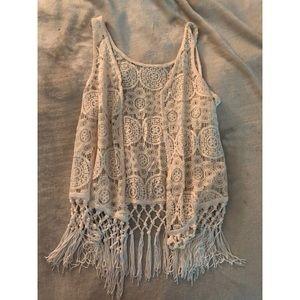 Lacey Vest/ Coverup